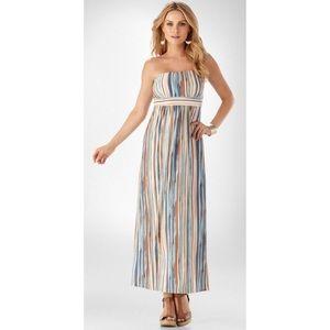 Soma Vanessa Maxi Dress Convertible Straps Medium
